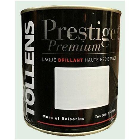 TOLLENS Peinture Prestige Premium Brillant Laqué Eau de Roche 0,5 L - Eau de roche