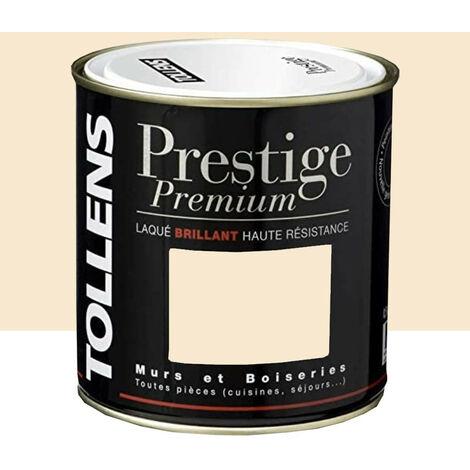 TOLLENS Peinture Prestige Premium Laqué Brillant Voile de soie 0,5 L - Voile de soie
