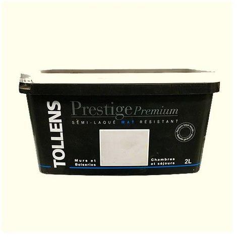 TOLLENS Peinture Prestige Premium Mat Semi-laqué Blanc cassé - 2L