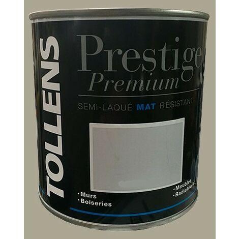TOLLENS Peinture Prestige Premium Mat Semi-laqué Grimoire - 0,5 L