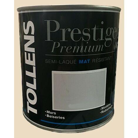 TOLLENS Peinture Prestige Premium Mat Semi-laqué Sisal - 0,5 L