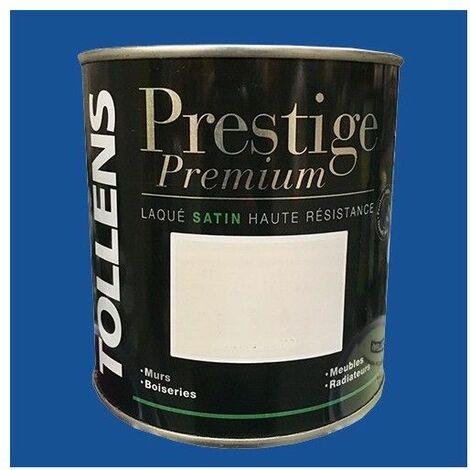 TOLLENS Peinture Prestige Premium Satin Laqué Bleu atlantide - 0,5 L