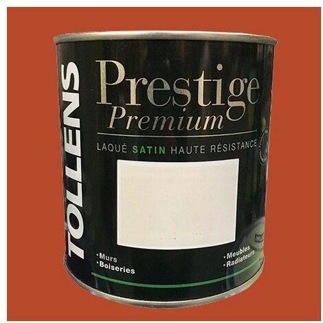 TOLLENS Peinture Prestige Premium Satin Laqué Brique - 2 L