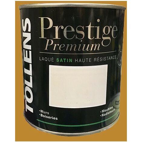 TOLLENS Peinture Prestige Premium Satin Laqué Camel doré - 0,5 L