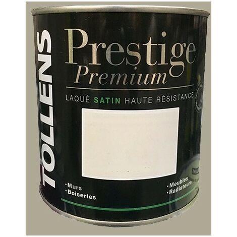 TOLLENS Peinture Prestige Premium Satin Laqué Grimoire - 0,5 L
