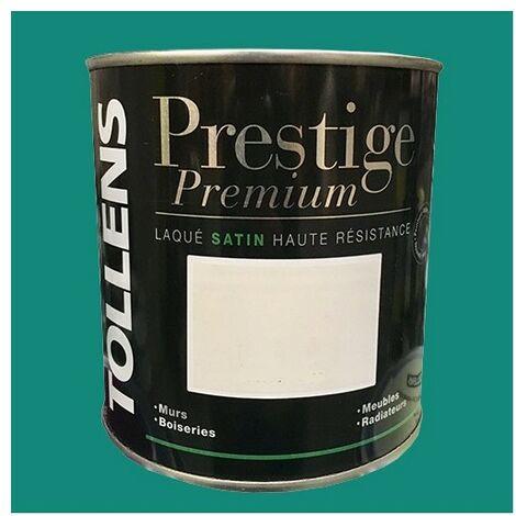 TOLLENS Peinture Prestige Premium Satin Laqué Malachite 0,5 L - Malachite