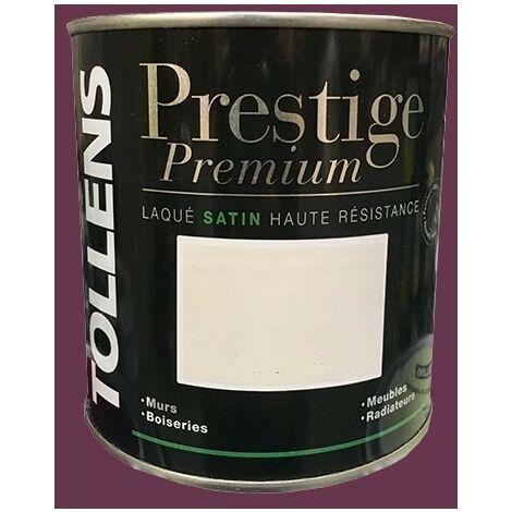 TOLLENS Peinture Prestige Premium Satin Laqué Prune - 0,5 L