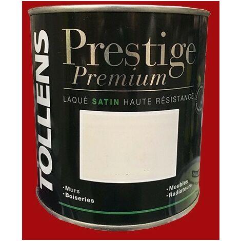 TOLLENS Peinture Prestige Premium Satin Laqué Rouge passion - 2 L