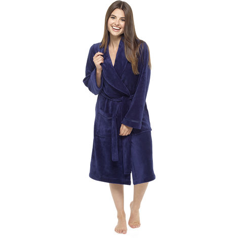 Tom Franks Ladies Dressing Gown Bathrobe