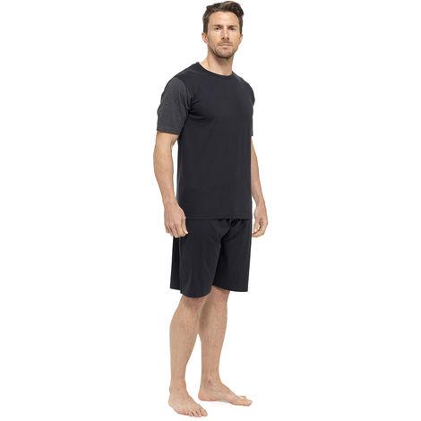 Tom Franks Mens Jersey Cotton Short Sleeve Top Pyjama