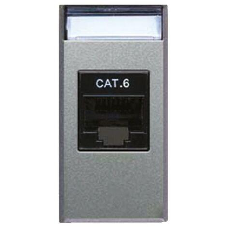 Toma de Datos, Ave Allumia Sistema 44 cat6 RJ45 443027C6