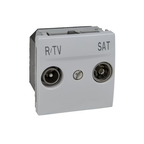 Toma R-TV/SAT Derivacion Unica Polar SCHNEIDER ELECTRIC U3.454.18