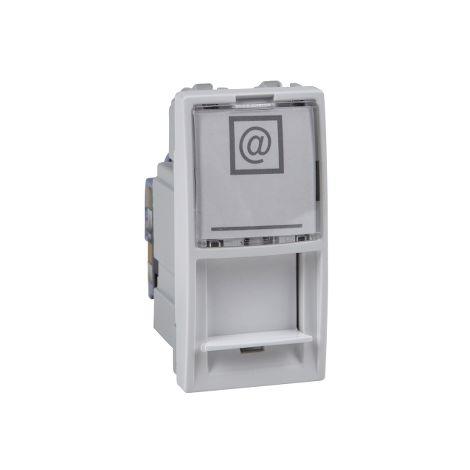 Toma RJ45 cat.6 UTP 1 mod. Unica Polar SCHNEIDER ELECTRIC MGU3.414.18