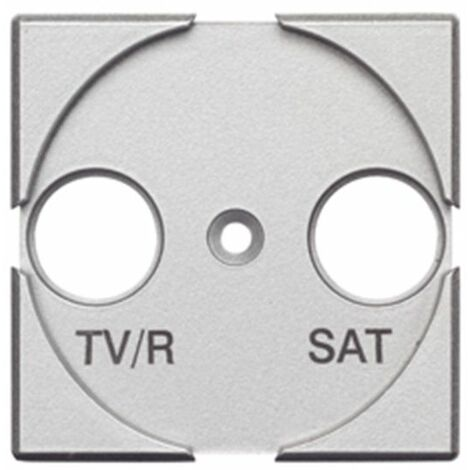 Toma TV/R-SAT ancho tech Bticino Axolute HC4212