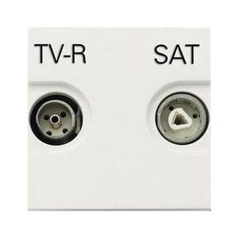 Toma TV-R/SAT Final Blanco Niessen Zenit N2251.7 BL