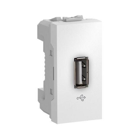 Toma USB 1 mod. Unica Polar SCHNEIDER ELECTRIC MGU3.429.18