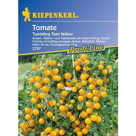 10+ Samen Seeds Saatgut Tumbling Tom Yellow Tomate Ampeltomate