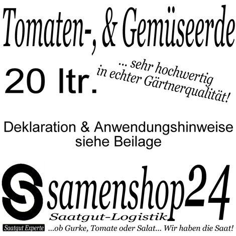 Tomatenerde Gemüseerde in Gärtnerqualität
