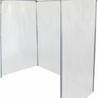 Tomatenhaus aus Aluminium 1,5x0,8x1,7m