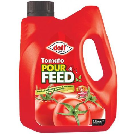 Tomato Food Feed Grow More Tomatoes Fast Doff Tomato Pour Feed 3 Litre Fast Post