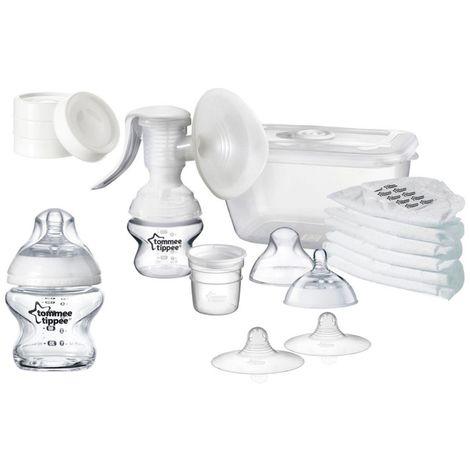 Tommee Tippee Kit allaitement avec tire-lait manuel