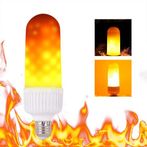Tomshine, Bombilla LED con efecto de fuego, E26, para regalo de fiesta