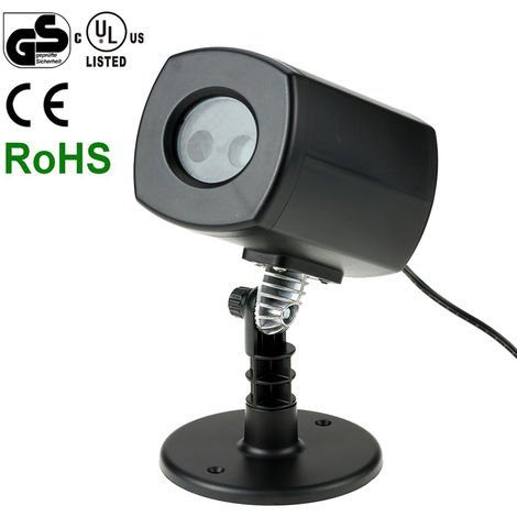 Tomshine, Proyector LED con certificado UL GS, Lampara de cesped, Impermeable