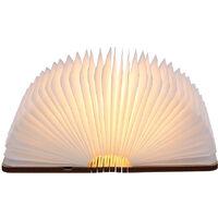 Tomshine rechargeable Port USB LED Mini Folding Livre Forme Lumiere Changable Table Portable sol au plafond Lampe de chevet Luminaire d'eclairage pratique et beau utilisation a l'interieur de Noel cadeau ideal