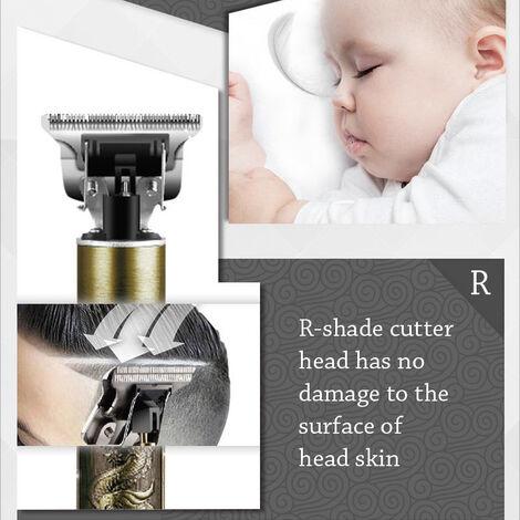 Tondeuse à cheveux électrique sans fil coupe de cheveux de coiffeur pour hommes professionnel tondeuse Rechargeable ensemble de Salon de coiffure multifonctionnel