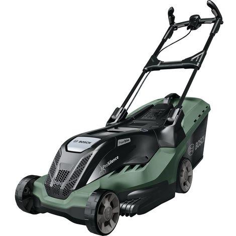 Tondeuse à gazon Bosch Home and Garden AdvancedRotak 670 06008B9202 électrique avec peigne à gazon, avec réglage de la hauteur de coupe 1800 W Largeur de coupe