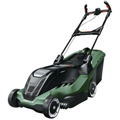 Tondeuse à gazon électrique Bosch Home and Garden AdvancedRotak650 poignée régable en hauteur et repliable
