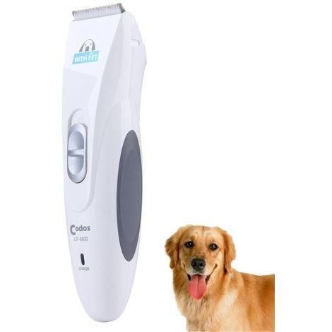 Tondeuse argent pour Animal de compagnie Rechargeable Professionnel à cheveux CP-6800 Pet