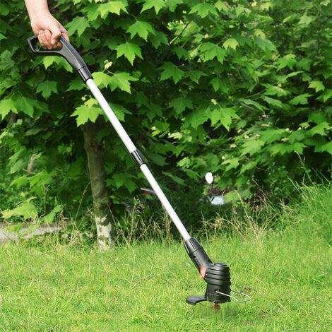 Tondeuse Electrique Sans Fil Portable Leger Et Portable Fauchage Machine Tondeuse Rechargeable Tondeuse Electrique Weed Eater