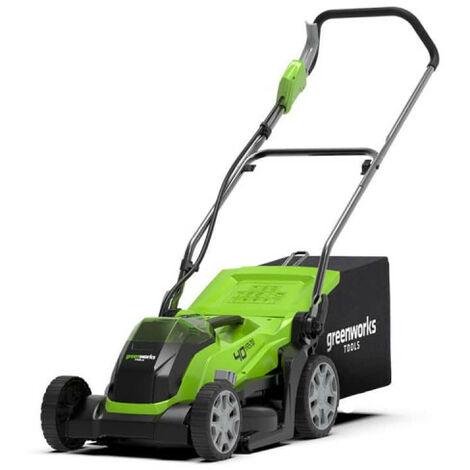 "main image of ""Tondeuse GREENWORKS 40V - Coupe de 35cm - Sans batterie ni chargeur - G40LM35"""