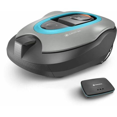 Tondeuse robot smart SILENO+ 2000 connectée pour des surfaces de tonte jusqu'à 2000 m².