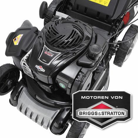 Tondeuse thermique Briggs&Stratton Speed, 140 cc, 46 cm, 2.7cv, 4en1, autotractée, vitesse d'entraînement triple réglable Modèle B&S b+S SPEED de BRAST