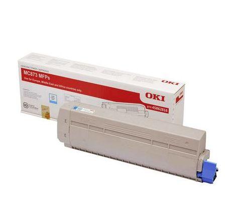 Toner dorigine OKI MC873 cyan