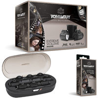 Toni & Guy Salon Extreme Volume Roller Set 25-38 Mm Black And 4 x 38mm Gift Set