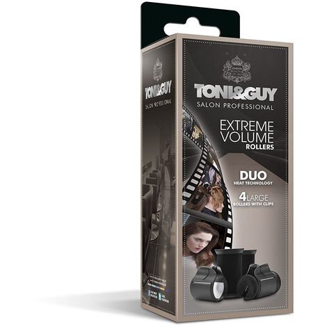 Toni & Guy TGS5620 Salon Professional Extreme Volume Hair Rollers - 38 mm