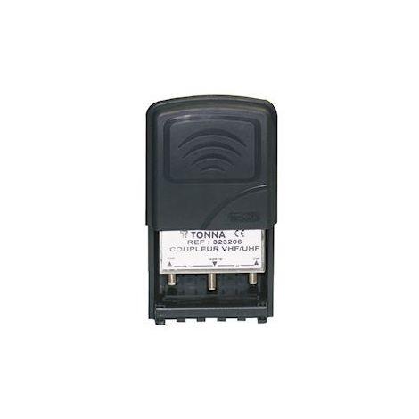 Tonna 323206 Coupler 2 INs VHF/UHF + pass