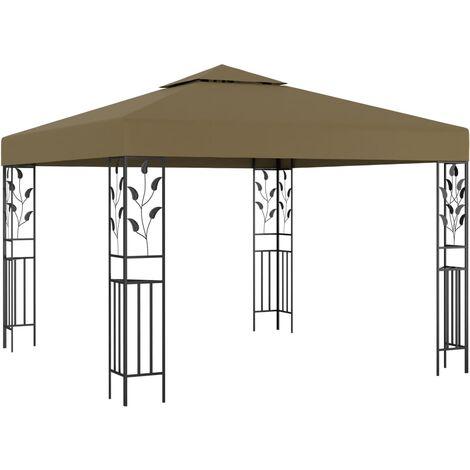 Tonnelle 3x3 m Taupe 180 g/m²