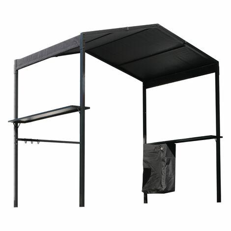 Tonnelle BBQ XL - Noir