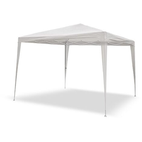 Tonnelle blanche amovible 3x3m + sac de transport. Jardin, plage, terrain, terrasse
