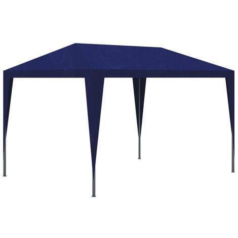 Tonnelle de jardin Tente de réception Chapiteau Bleu 3x3m