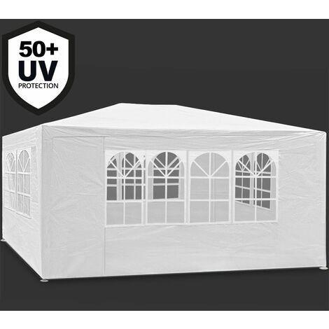 Tonnelle Maui - 3x4m - Barnum revêtement imperméable - Pavillon Tente de jardin
