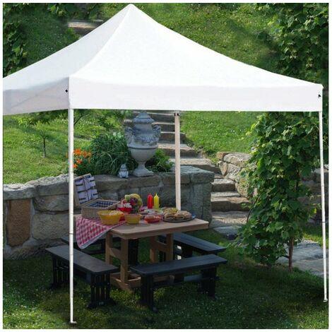Tonnelle pliante/Chapiteau/Barnum 3x3 m - Blanc