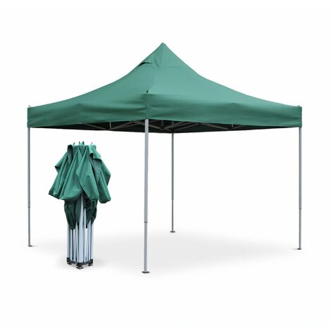 Tonnelle pliante Premium Apertus 3x3, tente de jardin pop up, pergola pliable, barnum, chapiteau, tente de réception, pavillon