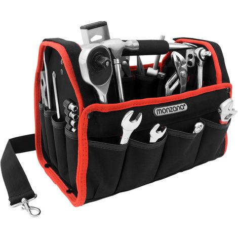 Tool Bag Storage DIY Large Heavy Duty Tool Case Plumber Builder Electrician Bag