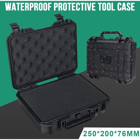 Tool Boxes Waterproof Rigid Carrying Cases Shockproof Shock Resistant Storage Box Safety Equipment Tool Box With Foam