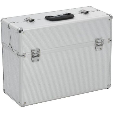 Tool Case 47x36x20 cm Silver Aluminium